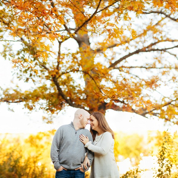 Katie & Jeff's Engagement - Lyman Orchards