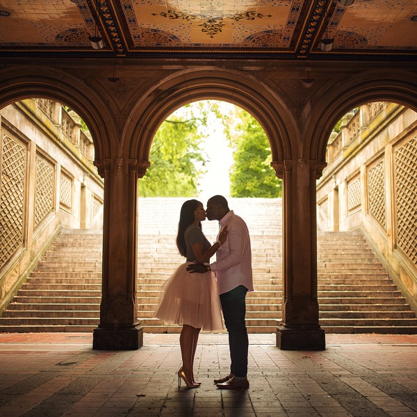 Vicki & Marck's Engagement - Central Park NYC