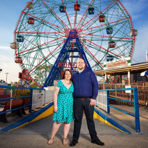 Lisa & Tom's Engagement – Coney Island - New York