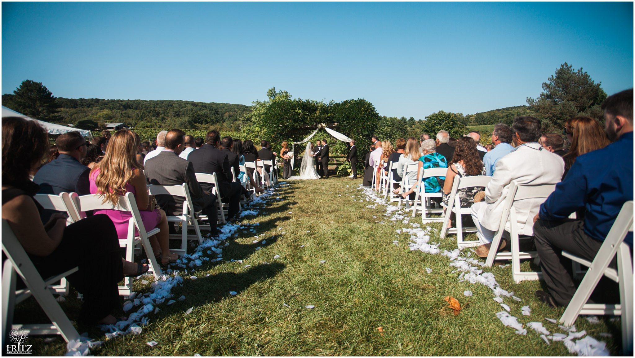 Hopkins Vineyard Wedding Ceremony 9