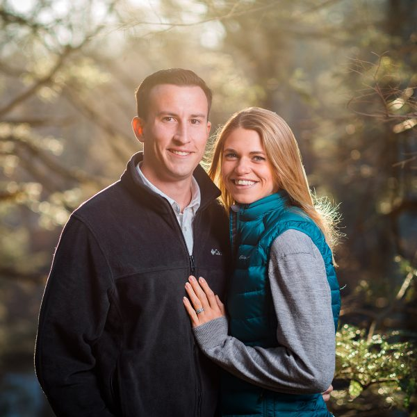 Kiely & Kevin - Engagement Session - Southford Falls